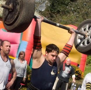 Ben Brunning - Competitor at Wales' Strongest Man 2012