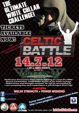 Celtic Battle MMA - Live at the Welsh Strength and Power Weekend